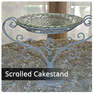 Scrolled Cake Stand