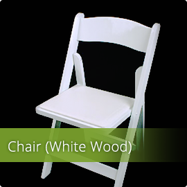 White Wood Chairs