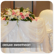 Deluxe Sweetheart Table