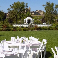 Tables & Chairs with Gazebo
