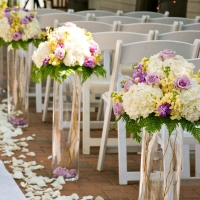 Haz Rental Center Seating & Aisle Florals