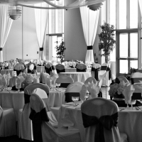 HAZ Ballroom Seating with Linen Seat Covers