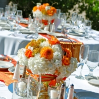 Floral Table Display