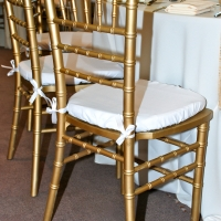Chiavari Chair in Gold