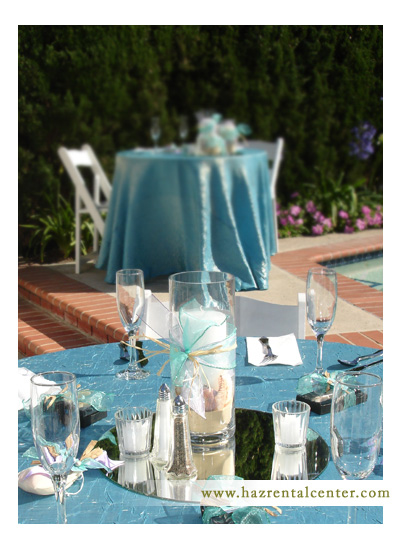 Poolside Ceneterpiece Decor