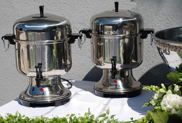 Stainless Steel Coffee Service