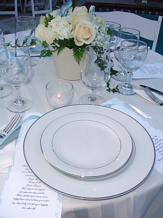Haz China Tablesetting