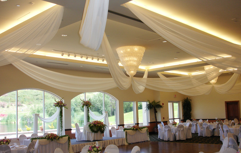 Haz Ballroom with Fabric Draping