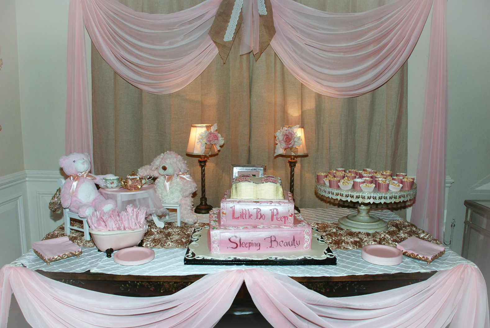 Haz Rental Center Cake Display