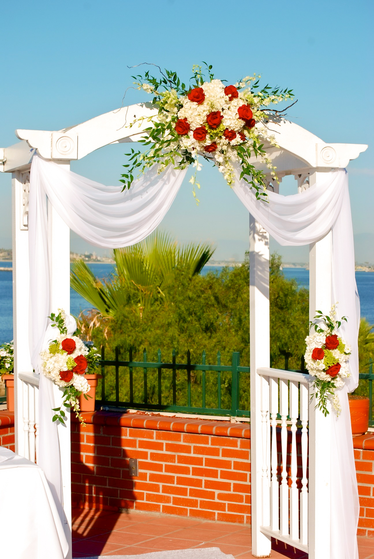 Wedding Arbor Seaside