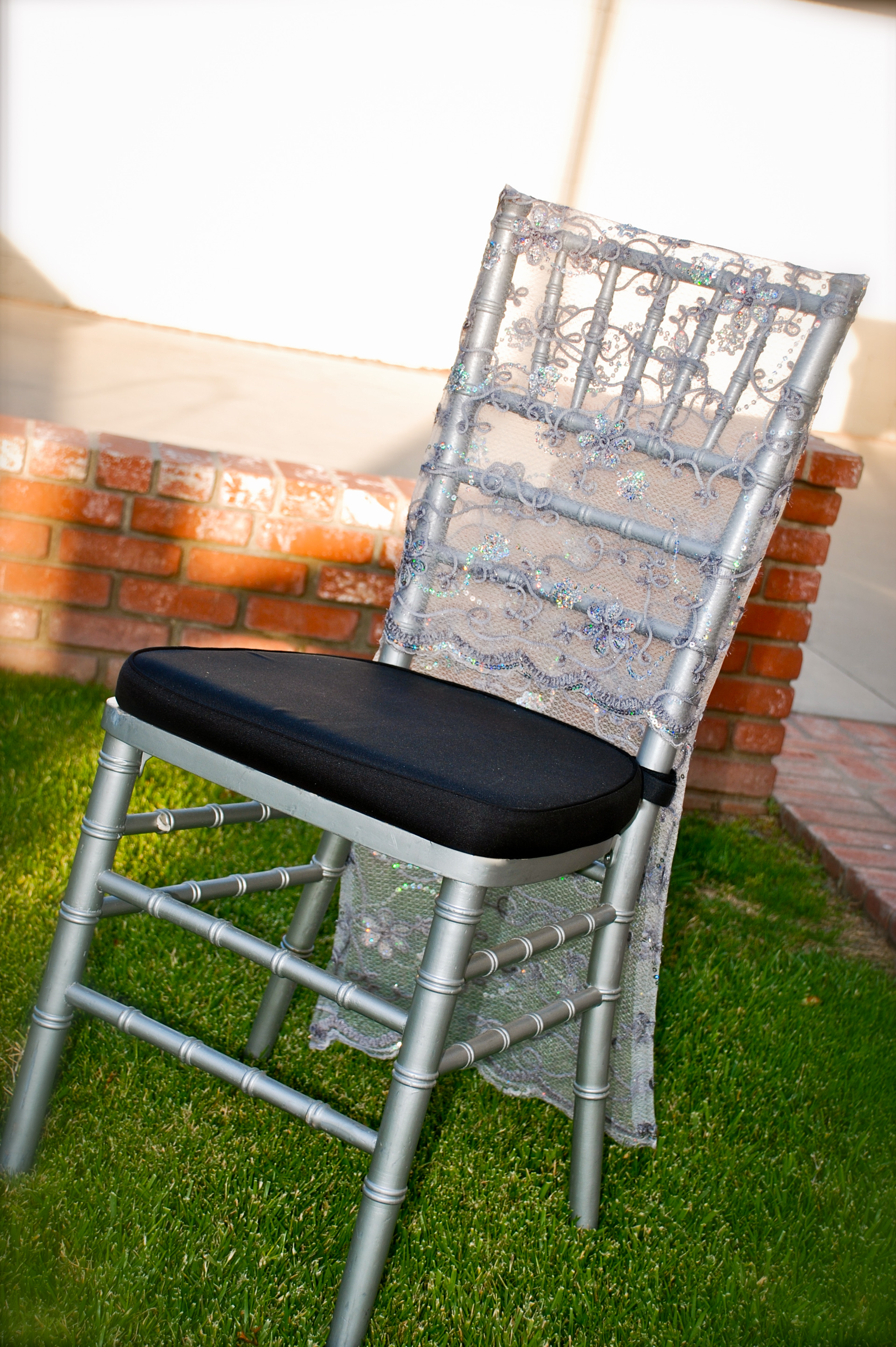 Haz Rental Center -  Chiavari Chair in Silver