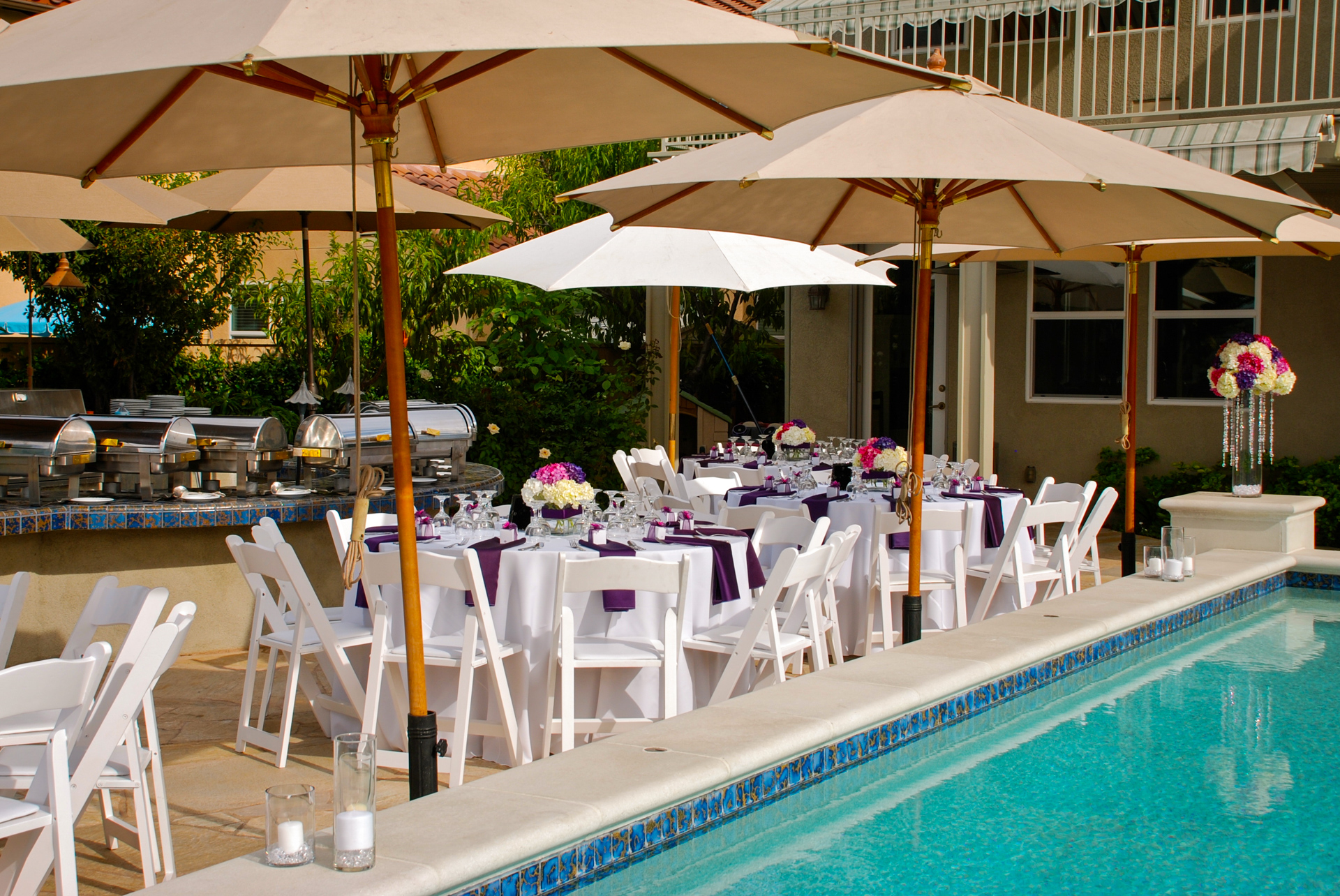 HRC Poolside Tables
