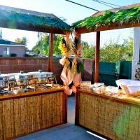 Tiki Food & Drink Props