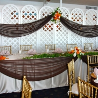 Lattice panels and tables