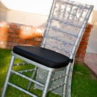 Haz Rental Center -  Chiavari Chair in Silver