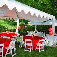 Haz Rental Center -  Garden Tents, Outdoor Seating