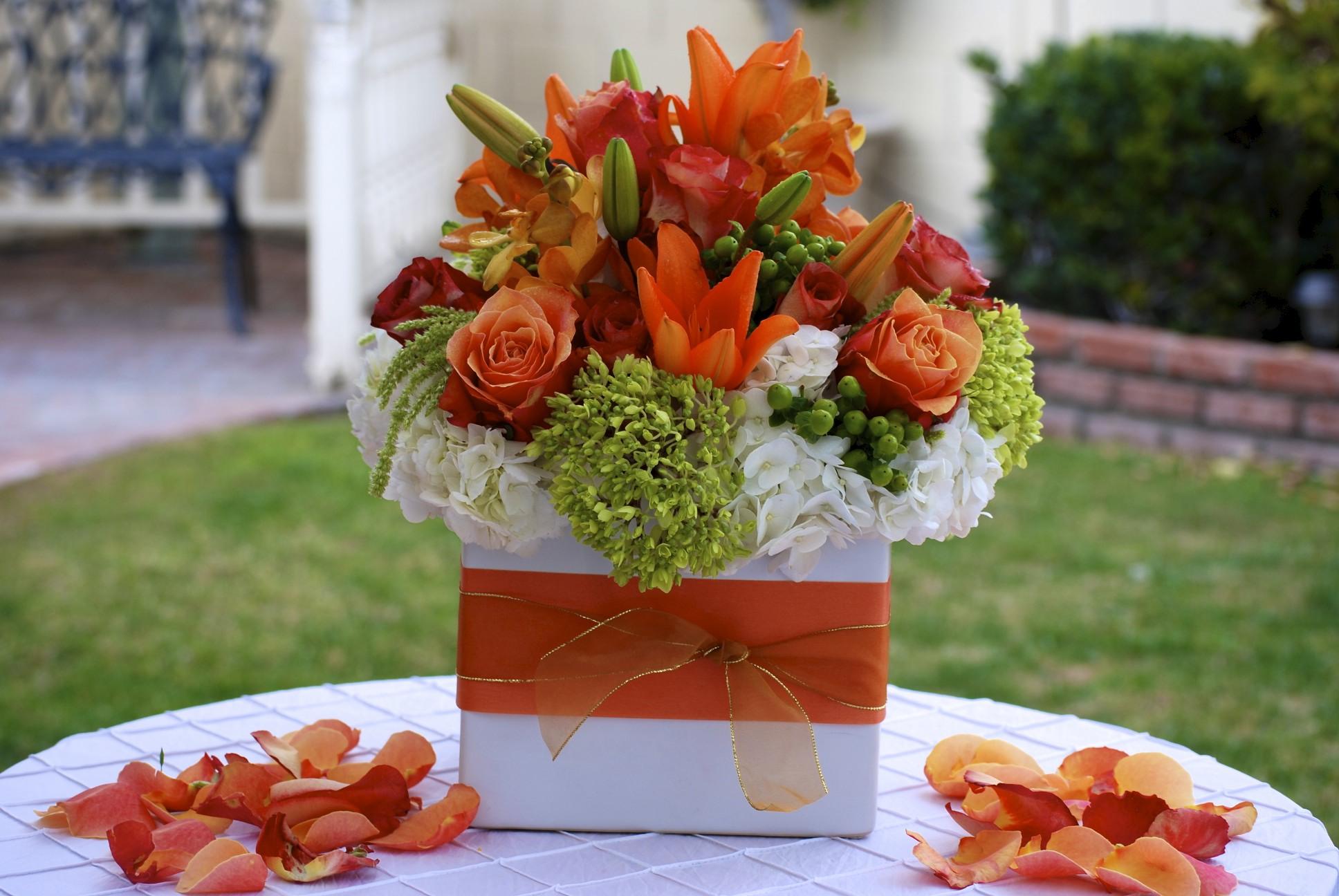 HAZ Custom Floral Centerpiece