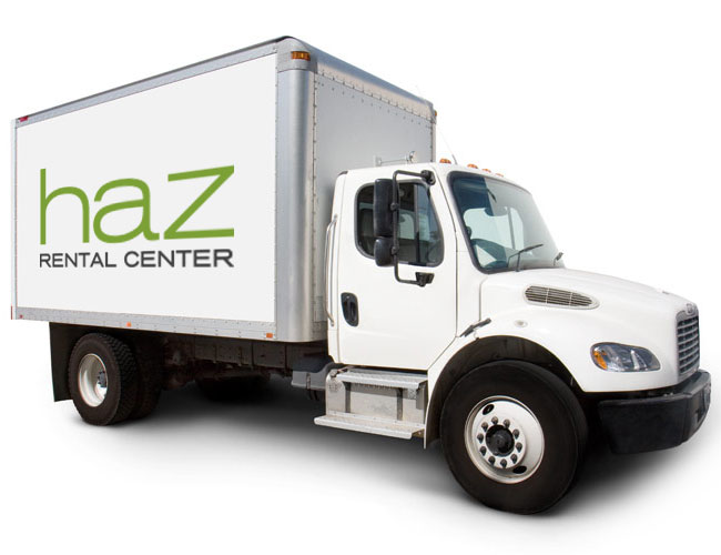 Haz Delivery Truck