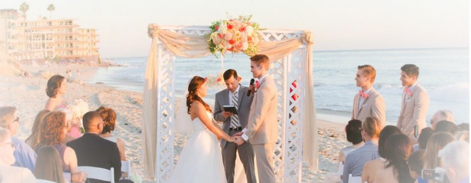Haz Beachfront Weddings - Hand-Crafted Chuppah (OPEN CANOPY)