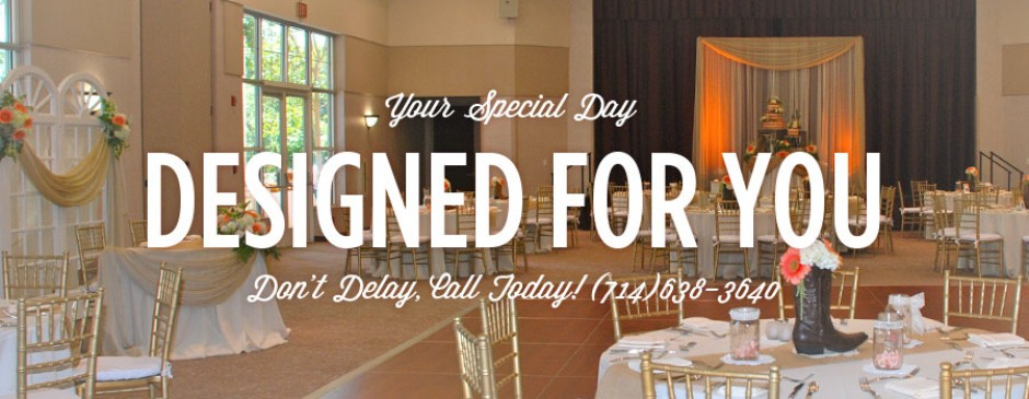 Custom Designs for your Special Day - Get a FREE Consultation!